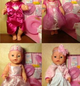 Одежда для куклы беби борн