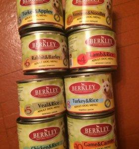 BERKLEY Корм для собаки