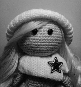 Амигуруми. Вязаная кукла.