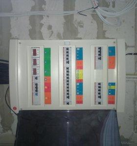 Электромонтаж, услуги электрика