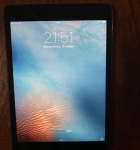 iPad mini wi-fi + cellular 32Gb space gray