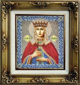 Картины и иконы из бисера