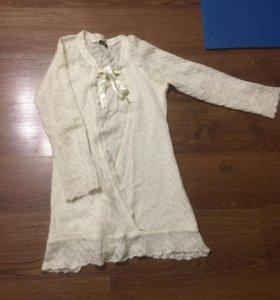 Платье-туника нежное и тёплое LIVAA