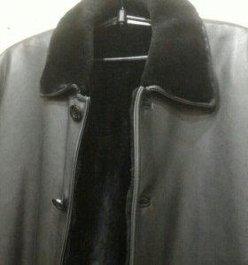 Куртка мужская кожанная классика