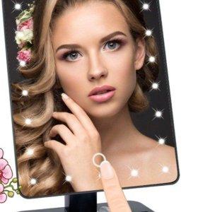 Светодиодное зеркало для макияжа