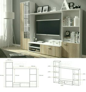 Мебельная стенка Хуго
