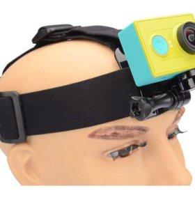 Крепление на голову для экшн-камеры