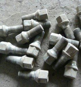 Болты колесные для audi 80 b3/москвич 2141комплект