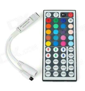 Миниконтроллер RGB с пультом на 44 кнопки