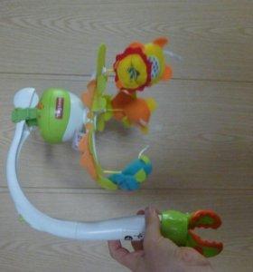 Мобиль музыкальный для малыша