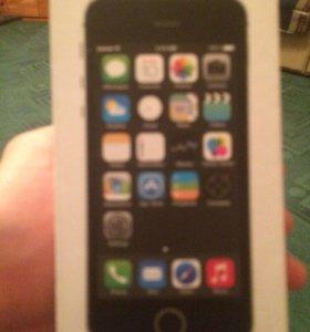 Коробка iPhone 5s 16g