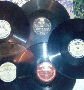 Виниловые пластинки 50-60 года СССР