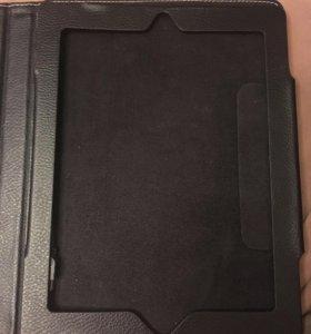 Кожаный чехол новый IPad 1,2,3,4