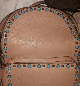 Valentino рюкзак кожа