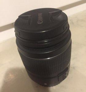 Объектив Canon EFS 18-55