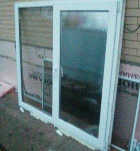 Окно металлопластиковое.