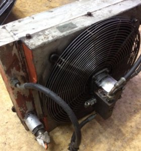Радиатор на Эксковатор orenstein koppel RH 9