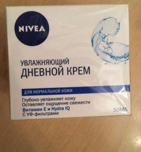 Увлажняющий крем Nivea (Нивея) Новый !