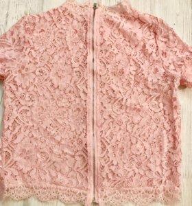 Нежно ажурная блуза