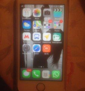 IPhone 5 se 32 gb розовый обмен