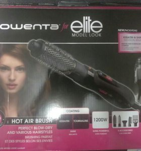 Новая Фен-щетка Rowenta Elite Model Look CF8252F0