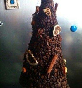 Кофейная елка