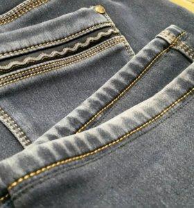 Подшив джинс, брюк