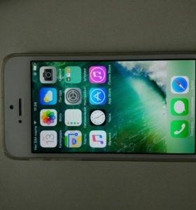 Iphone 5s 16gb gold (торг)
