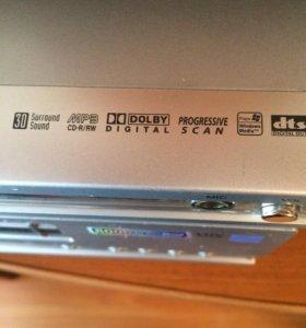 DVD плеер и видео магнитофон