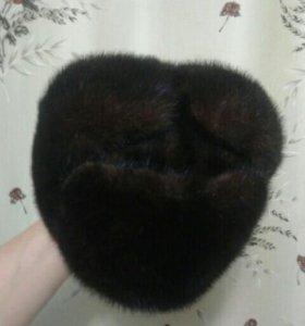 Шапка натуральная норкавая размер 60