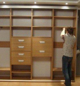 Установка дверей,сборка мебели