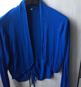 Пиджак трикотажный много интересного в профиле