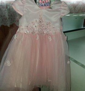 Платье и корона