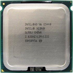 4-х ядерный процессор intel e5440 775 сокет