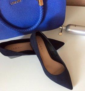 Туфли новые Zara