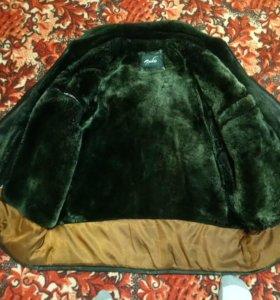 Зимняя коженка, из натуральной кожи