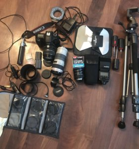 Фотоаппарат canon ds126171, вспышка, объективы