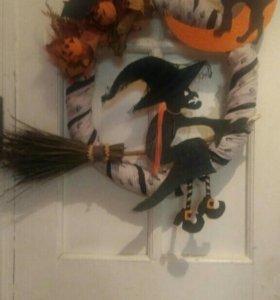 Венок на дверь (Хеллоуин)
