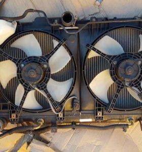 Радиатор+радиатор кандиционера.