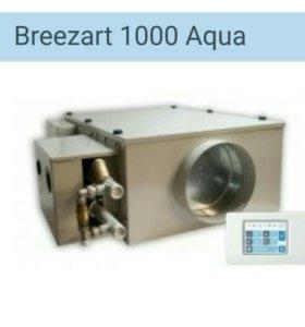 """Приточная установка с водяным калорифером"""" Бризарт"""