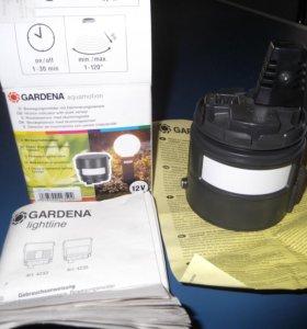 """""""Gardena"""" - Датчики движения м овещённости"""