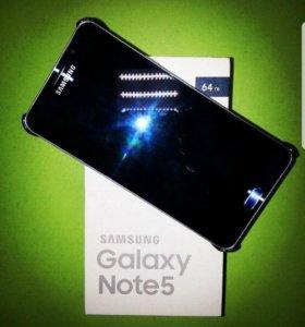 Samsung galaxy note 5 black sapphire 64 гб
