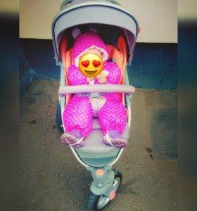 коляска happy baby neon sport