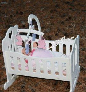 Кровать для куклы
