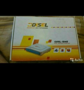 Моде qdsl 1040 проводной