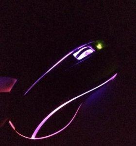 Игровая мышь SmartBuy с синей подсветкой
