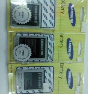 АКБ Samsung в ассортименте.