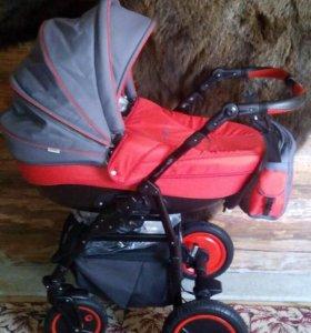 Детская коляска 2в1 Champion Alu