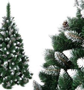 СОСНА 220 см новогодняя елка АЛМАЗ НОВЫЕ