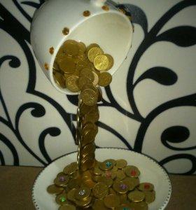 Кружка денежная-чайная